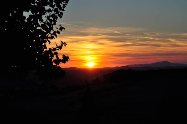 zachód słońca - sun set