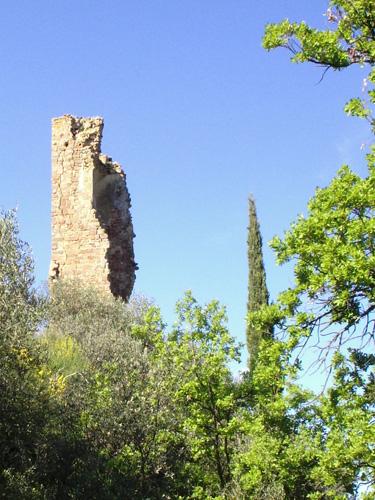 Rovine del Castello di Pogni